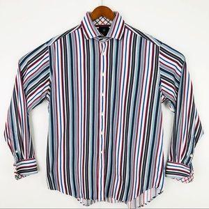 Mens longsleeve Harry Nicholas dress shirt XL
